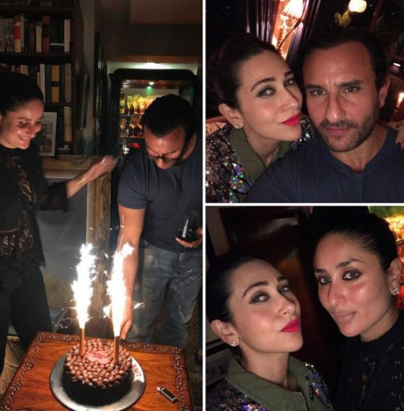 PHOTOS: Saif Ali Khan's birthday celebrations were a blast and here's proof!