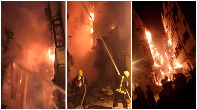 Huge fire breaks out at historic Jeddah neighbouhood