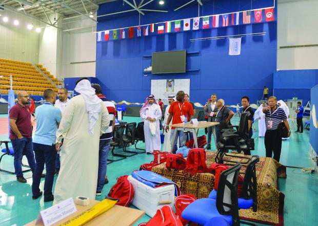 Bahrainis set for tough Egypt test