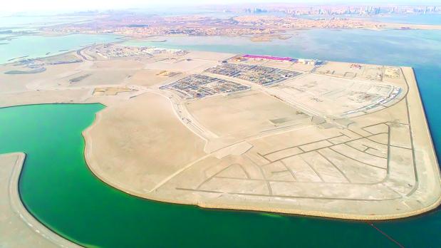 Al Bareh infrastructure work on track