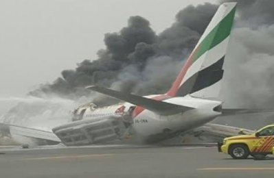 Passengers sue Boeing for 2016 Emirates crash in Dubai