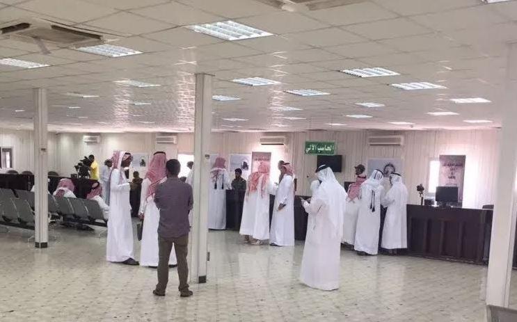 100 Qatari pilgrims cross Salwa border point
