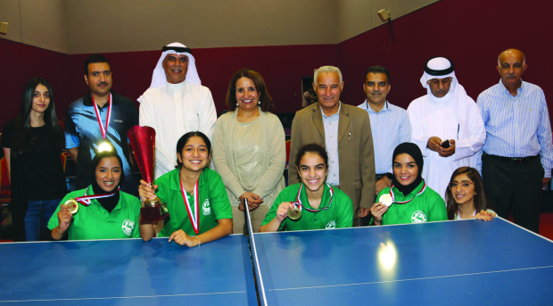 Bahrain Club lift title
