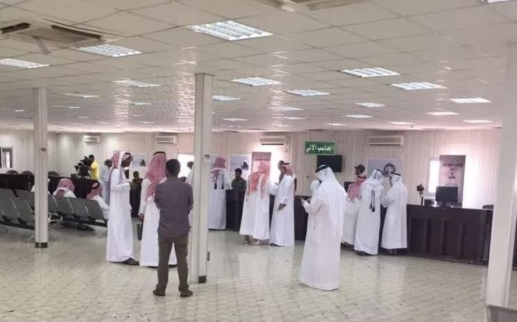 100 Qatari pilgrims cross Salwa border point