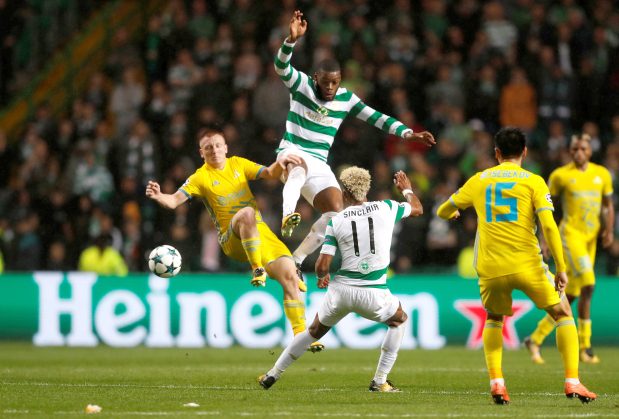 Celtic close in on Champions League