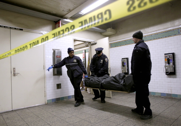 A grim subway reality: Corpses sometimes kept in break rooms