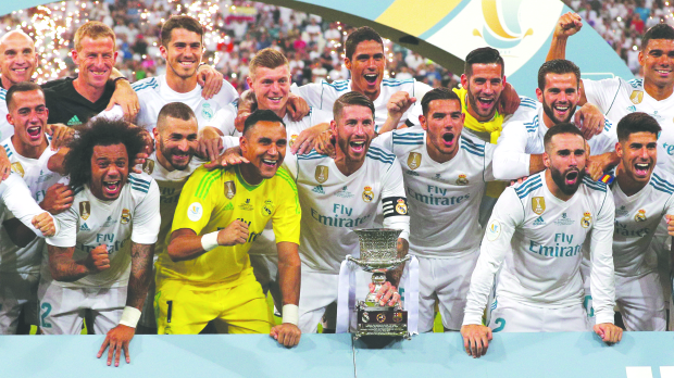 Real Madrid clinch Spanish Super Cup