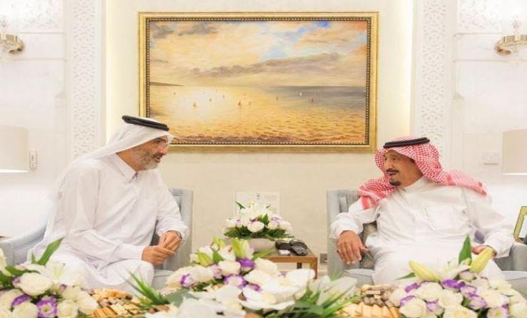 Saudi King meets Qatari Haj mediator