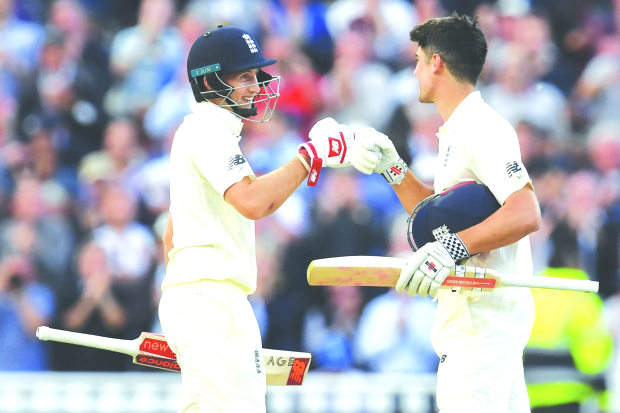 Root, cook slam tons as England dominate Windies
