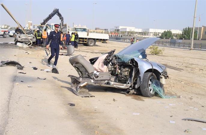Bahraini teenager killed in horrific crash on December 16 Highway