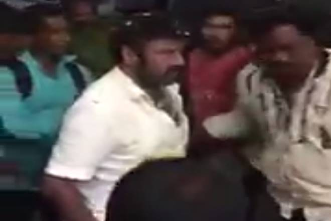 Video shows Telugu star slapping fan, goes viral