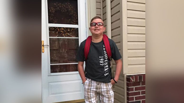 Boy, 13, who had heart transplant dies on first day of school in Ohio