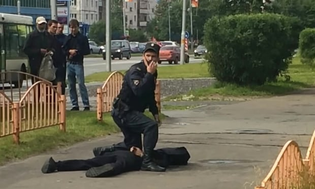 Russian officials say seven wounded in Siberia stabbing attack