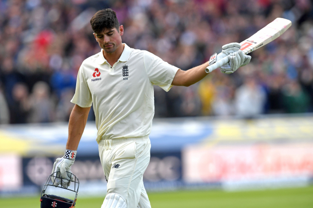 Cook's double century puts England on top