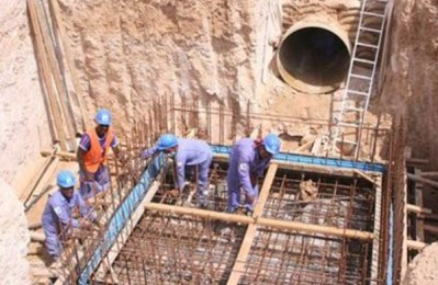Dewa completes third of 162-km water project