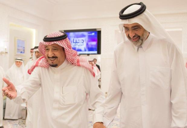 New twist in Doha dispute as Saudi reach out to Qatar ruling family rival
