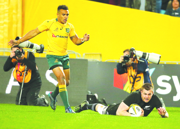 All Blacks pile on Wallabies' misery