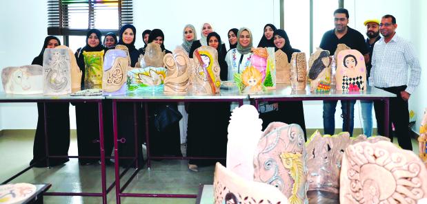 Ceramic sculpture training workshop