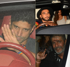 Ranveer's quirky fashion sense lights up Ritesh Sidhwani's party!