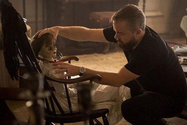 'Annabelle: Creation' director claims things 'got weird' at home after doll was moved