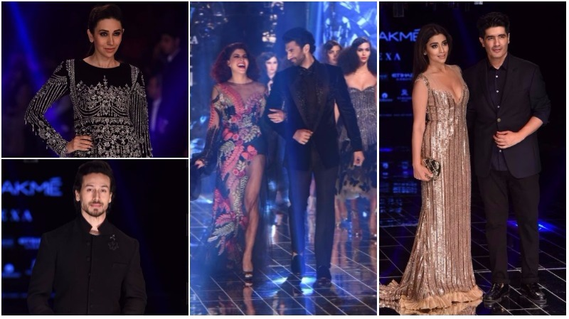 PHOTOS: Stars add Bollywood sparkle to Manish Malhotra's show at Lakme Fashion Week