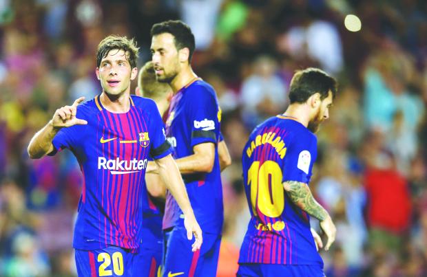 Barcelona notch 'emotional' win at Nou Camp