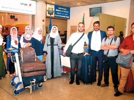 Palestinian teachers return to Kuwait for the first time since 1990 ban
