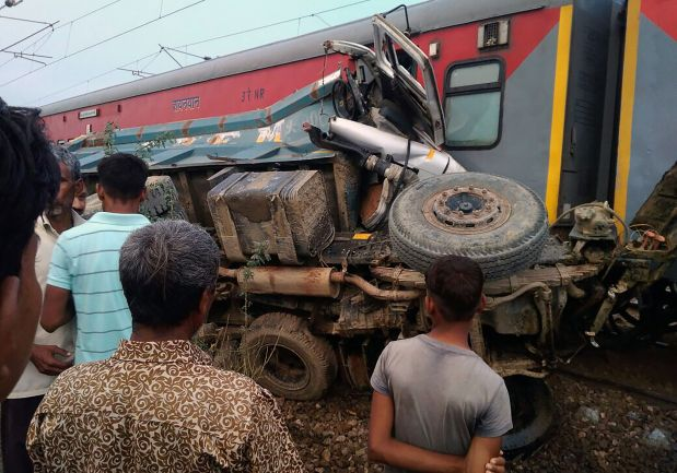 74 injured as train derails in north India