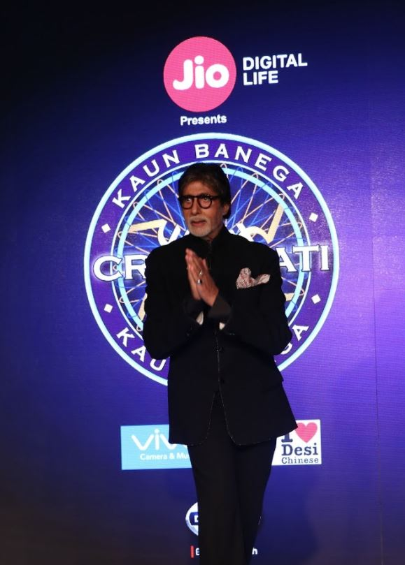 Amitabh Bachchan gets ready for the ninth season of 'Kaun Banega Crorepati'
