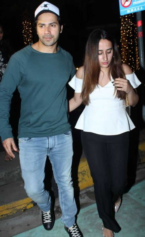 Varun Dhawan photographed hand-in-hand with 'girlfriend' Natasha