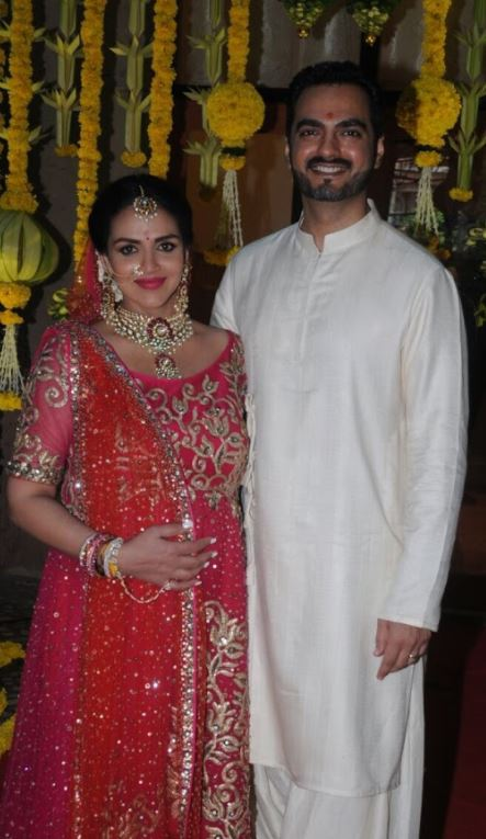 Photos: Esha Deol glows at baby shower and 'second' wedding!