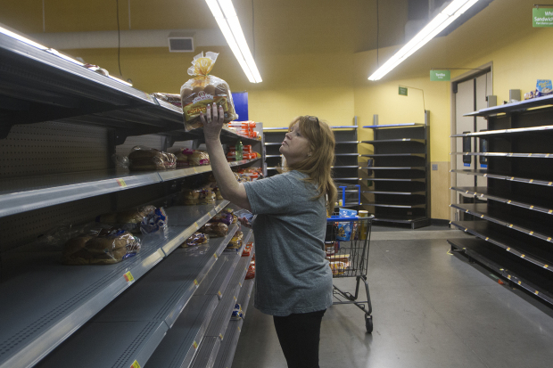 World News: PHOTOS: Harvey barrels into Texas as Category 4 hurricane