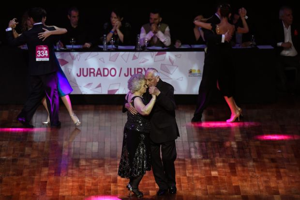 In Pictures: Meet Argentina's top tango stars, aged 82 and 90