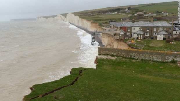 Scores treated after mystery 'chemical haze' hits UK coast