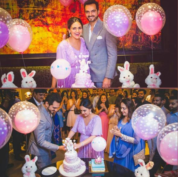 Photos: Inside Esha Deol's dreamy, lavender-themed second baby shower