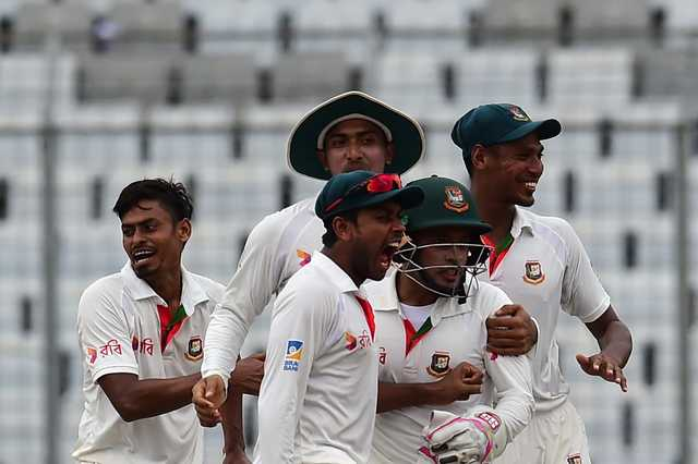Bangladesh stun Australia for historic Test win