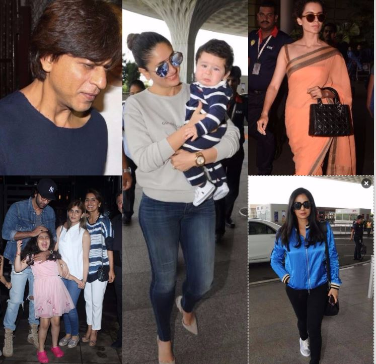Shah Rukh Khan, Kangana, Ranbir - this is what your favourite stars are up to!