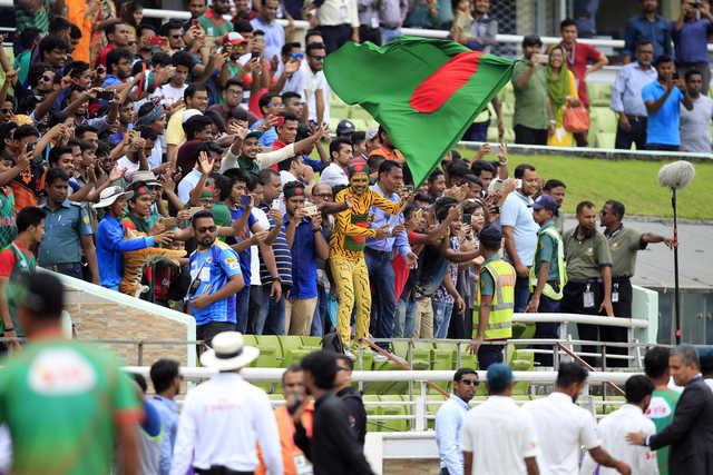 Bangladesh hail stunning victory