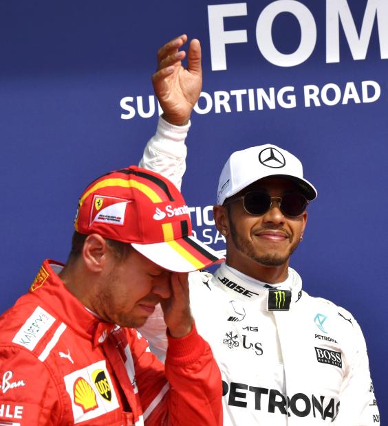Hamilton to 'wipe smile off Vettel's face'