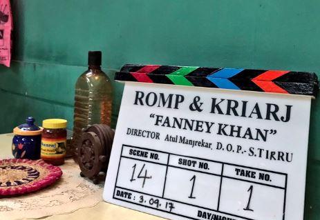 Anil Kapoor begins 'Fanney Khan' shoot