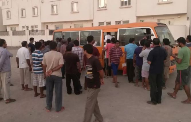 400 stranded workers in Sohar return to India