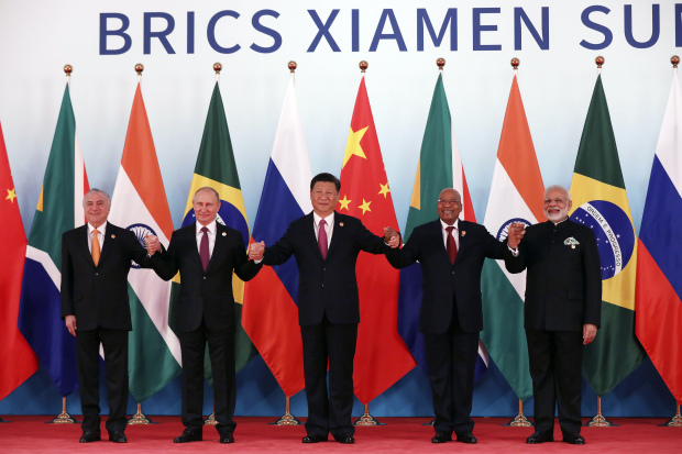 China pledges new funding for BRICS