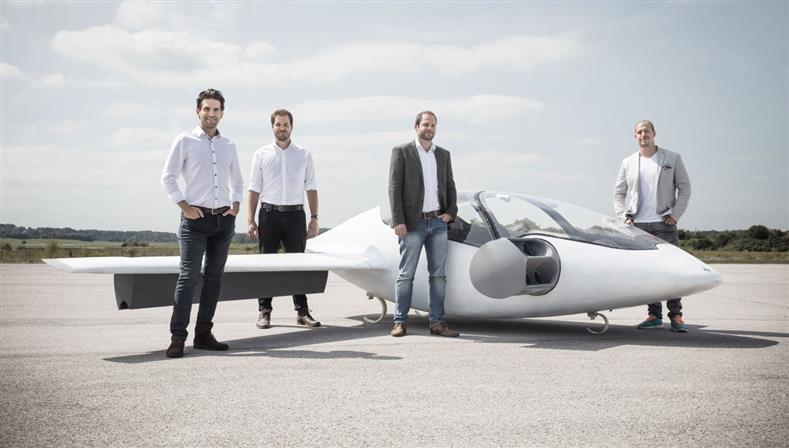 German 'flying taxi' firm raises $90m