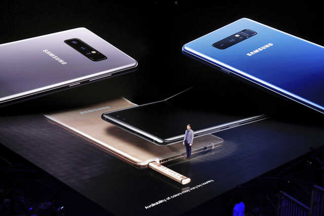 Samsung Note 8 gives its stylus some style - for a price