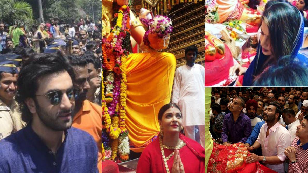 Photos: Stars celebrate 'Ganpati Visarjan'
