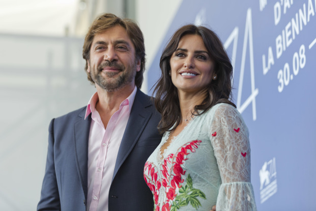 Penelope Cruz and Javier Bardem return to Venice festival