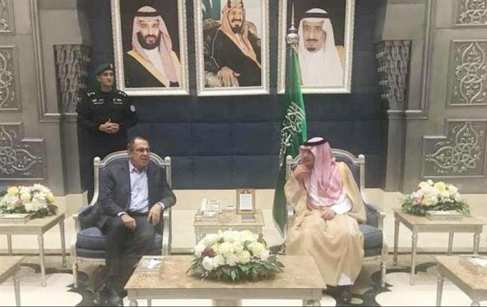 Russian Foreign Minister arrives in Saudi on official visit