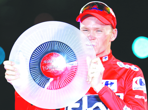 Froome completes a historic 'double' with Vuelta a Espana victory