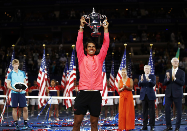 Rafael Nadal overwhelms Kevin Anderson to win third US Open title