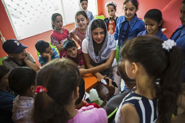 In Pictures: Priyanka Chopra urges more help for Syria refugees